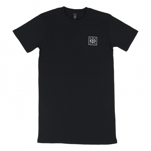 BTV Square Outline Tee BLK